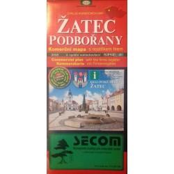 Map of Zatec